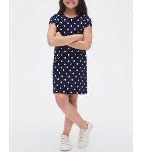 Cotton polka dot dress